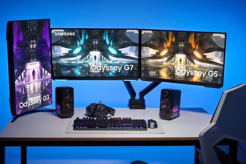 Samsung обновила линейку игровых мониторов Odyssey. Характеристики моделей 2021 года