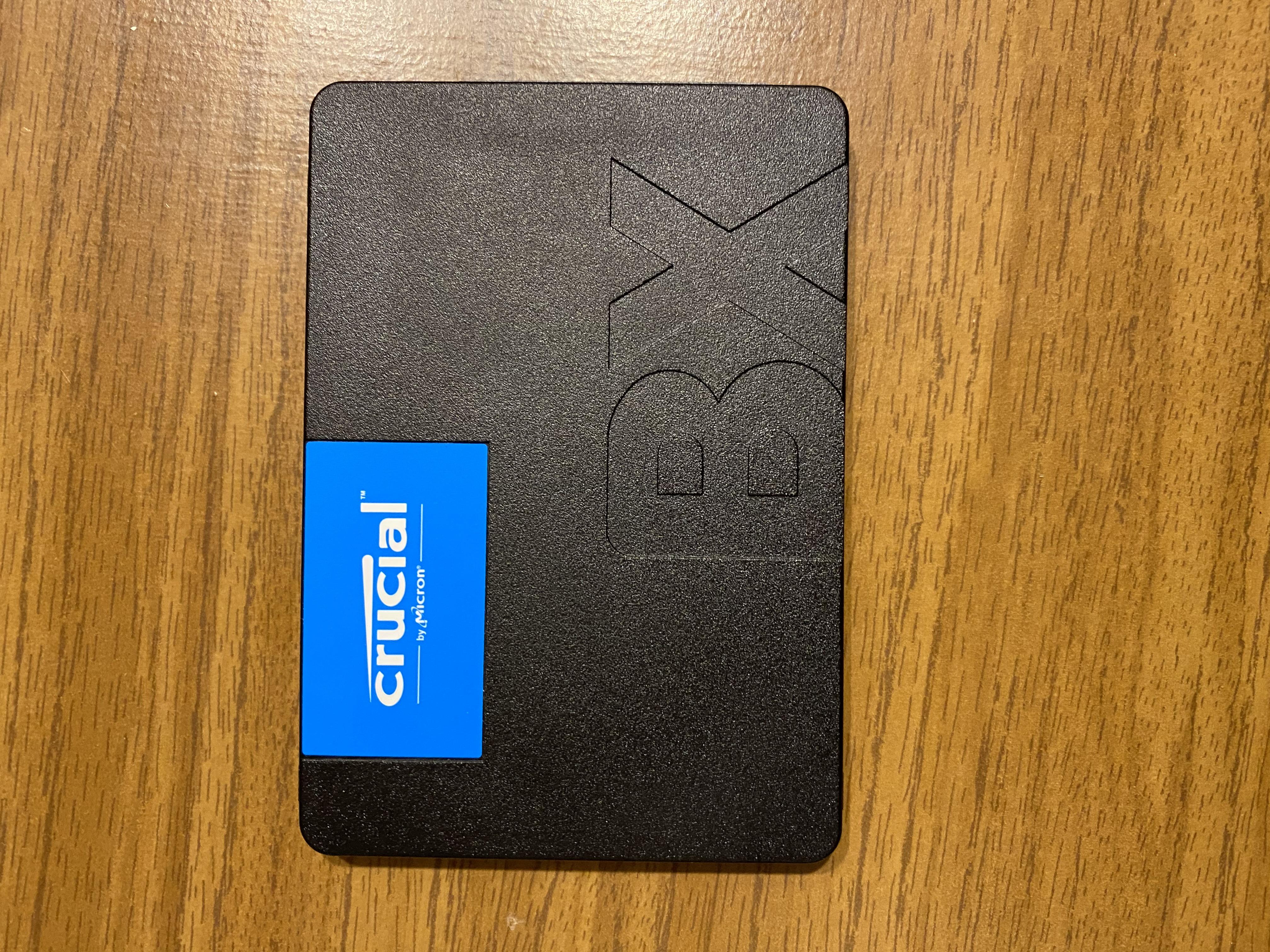 Обзор на твердотельный накопитель CRUCIAL BX500 240GB