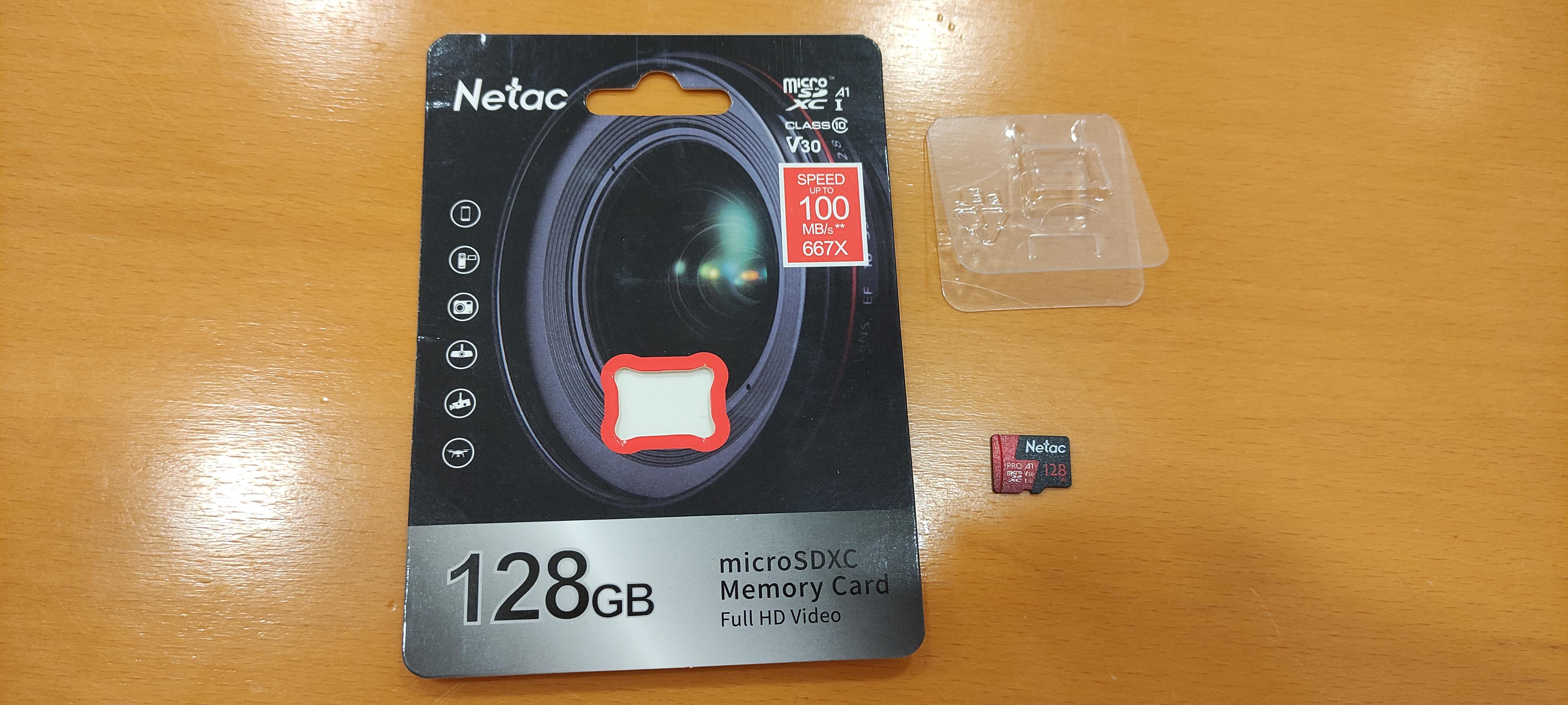 Обзор карты памяти microSDXC NETAC P500 Extreme Pro 128GB (NT02P500PRO-128G-S)