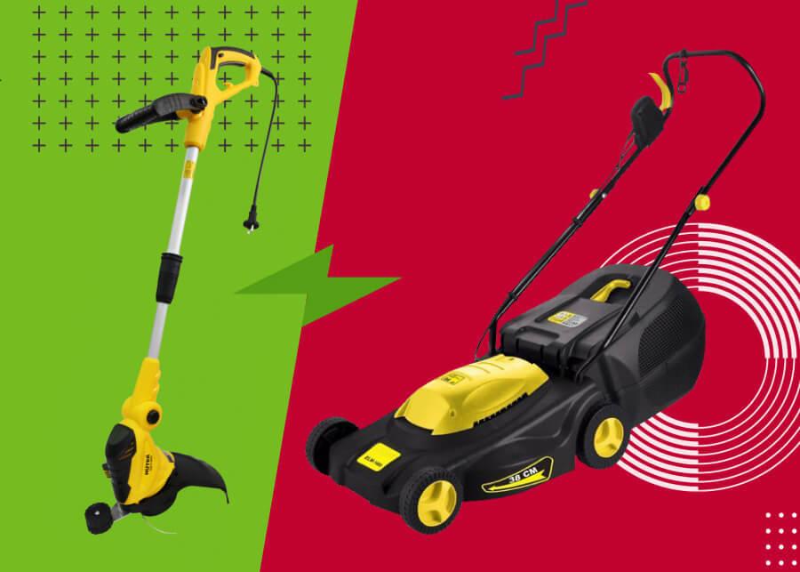 Триммер vs газонокосилка: что лучше?
