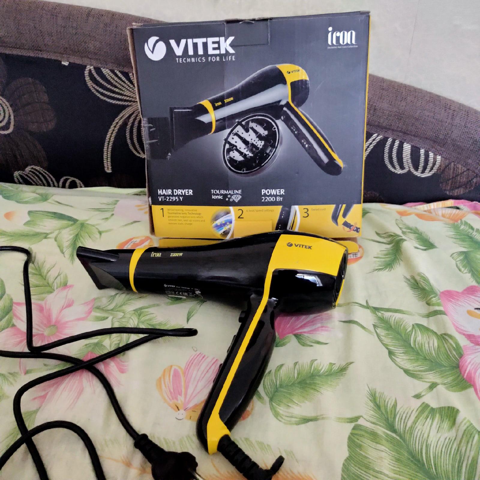 Видеообзор фена VITEK VT-2295 Icon