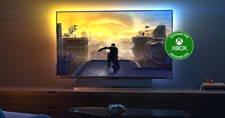 Philips показала первый в мире монитор, созданный специально для консоли Xbox