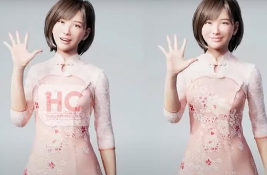 Huawei представила виртуальную помощницу по имени Лиза. Ее называют «искусственным человеком»