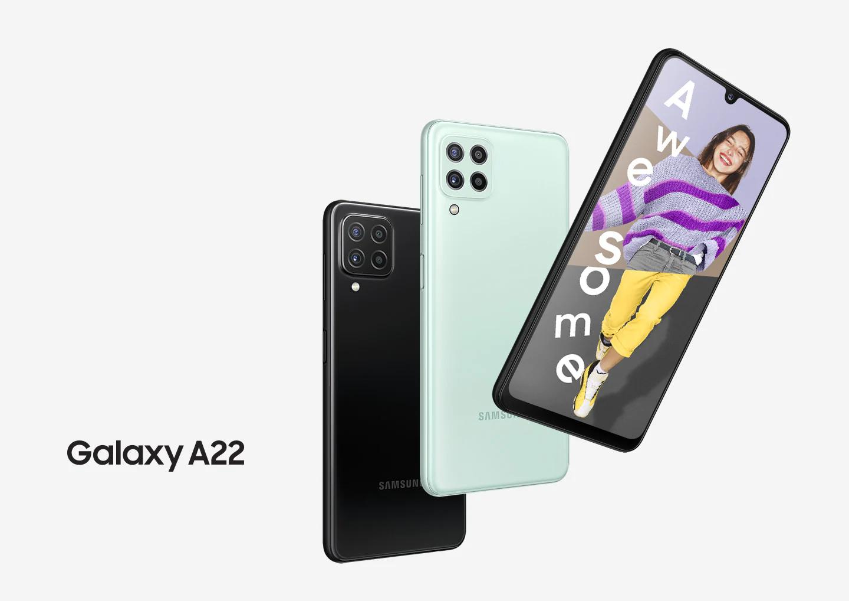 В России стартуют Samsung Galaxy A22. Это дерзкий смартфон с крутой камерой и батареей
