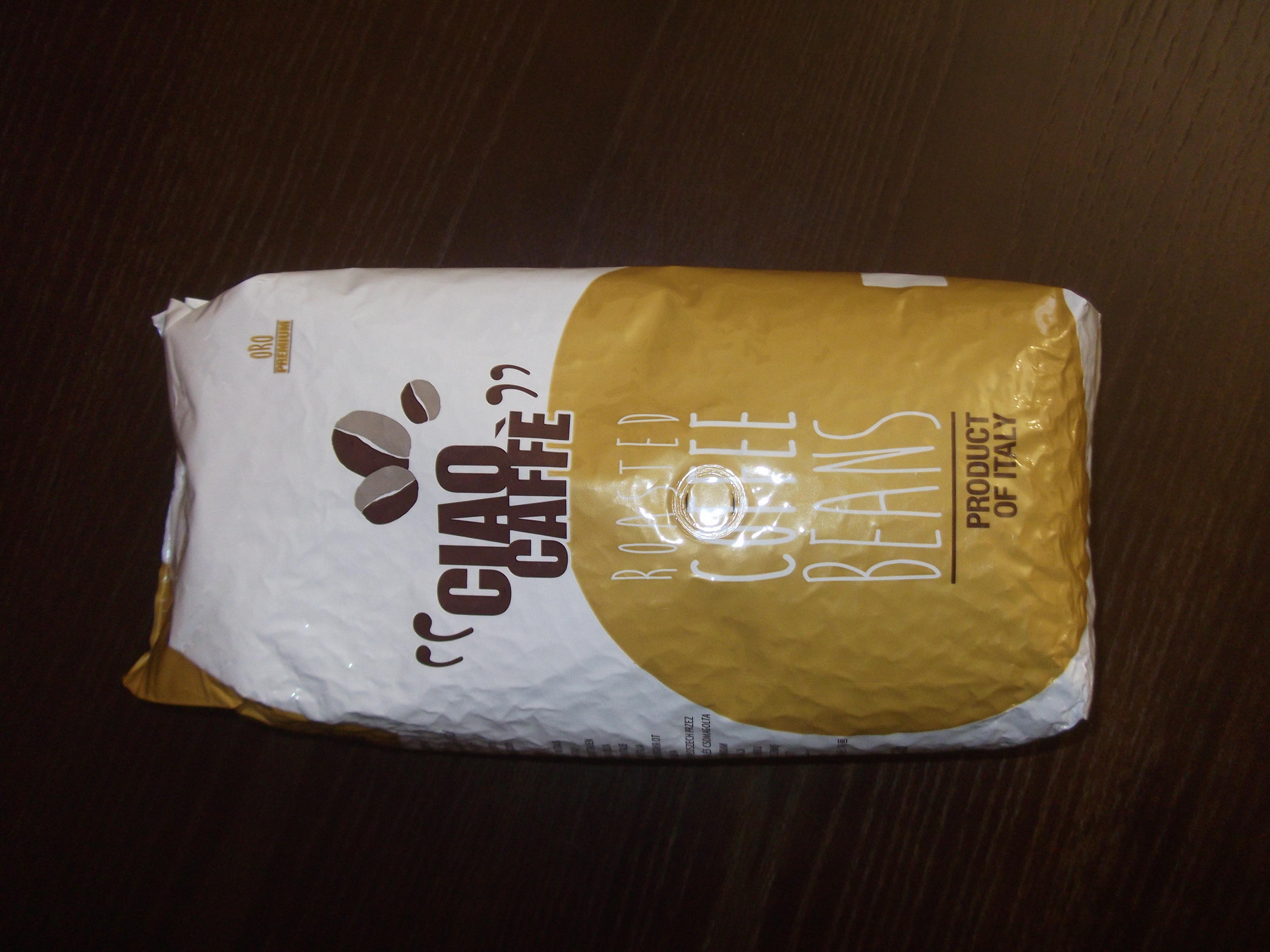 Обзор на кофе в зернах Ciao Caffe Caffe Oro.