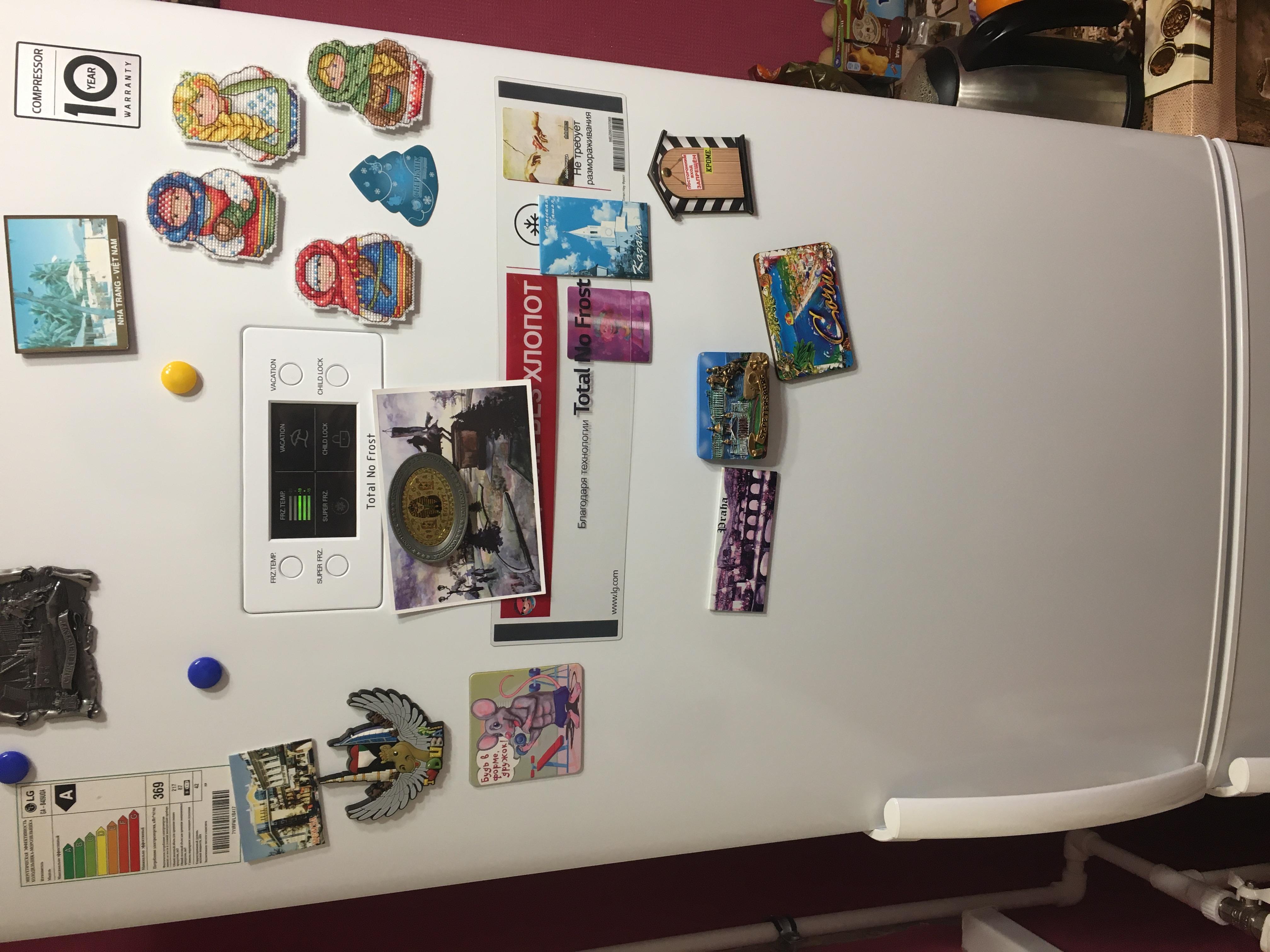 Обзор холодильника LG GA-B409UQA