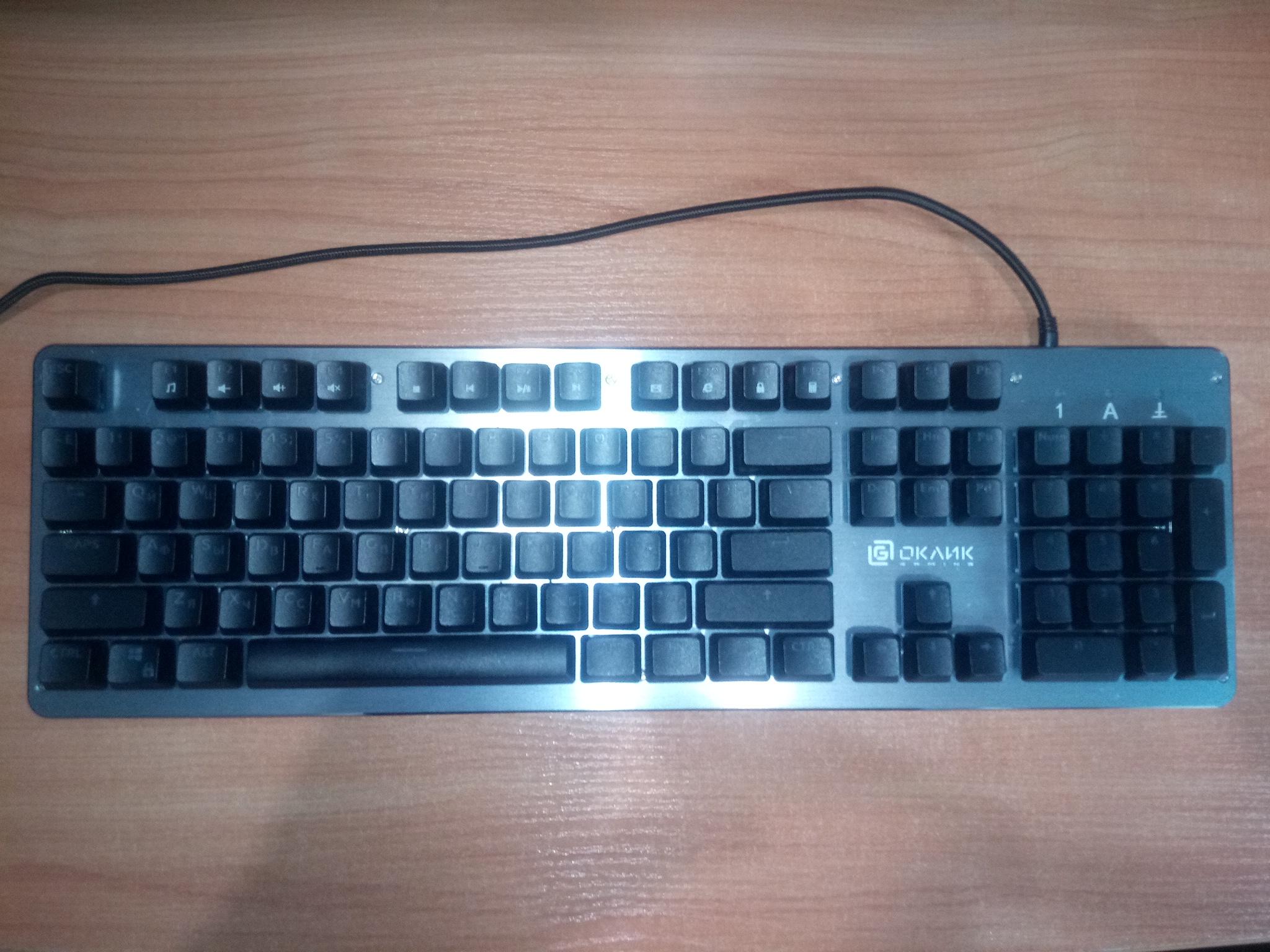 Обзор игровой клавиатуры Oklick 970G