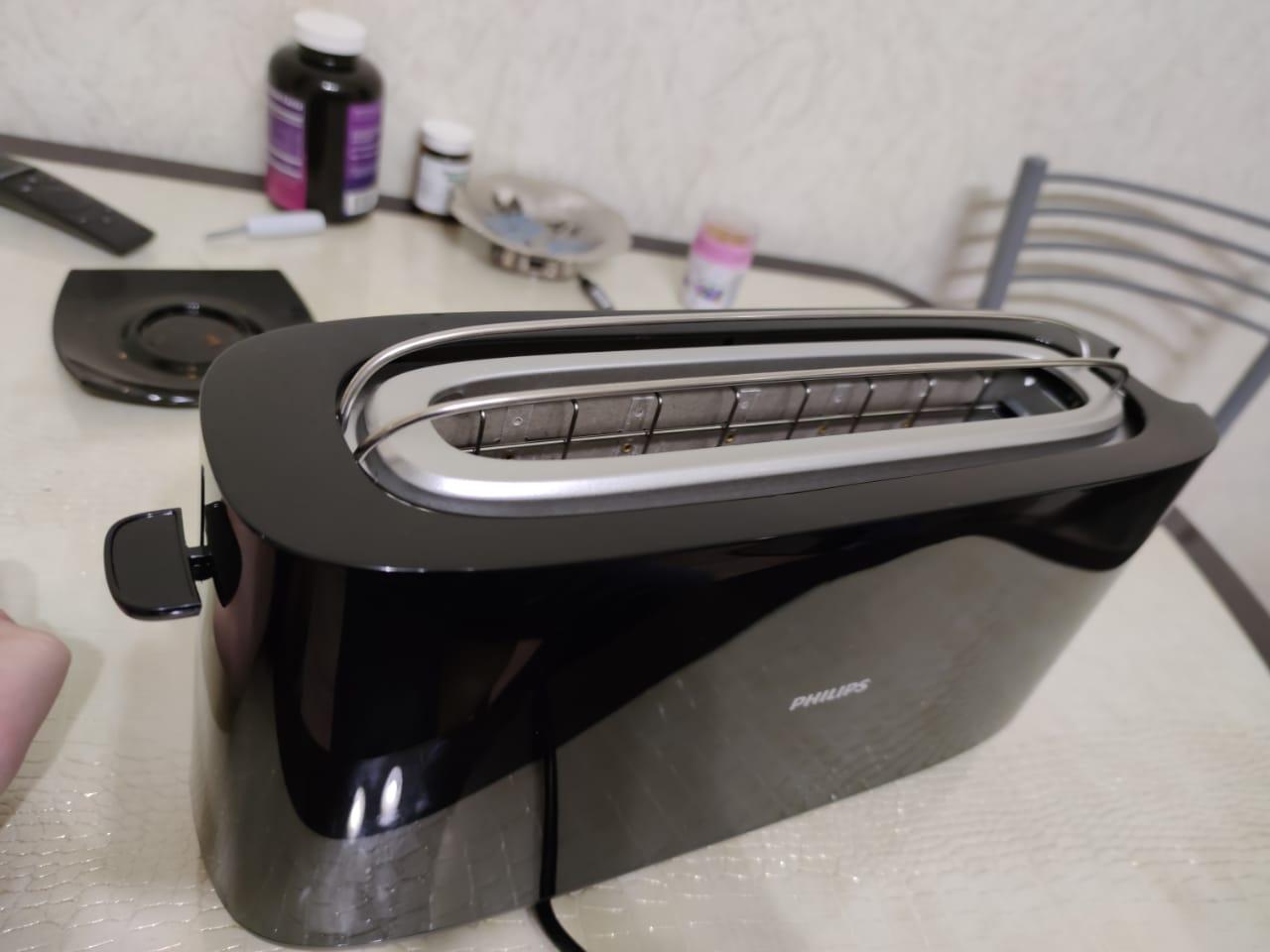 Обзор тостера Philips HD 2590/90