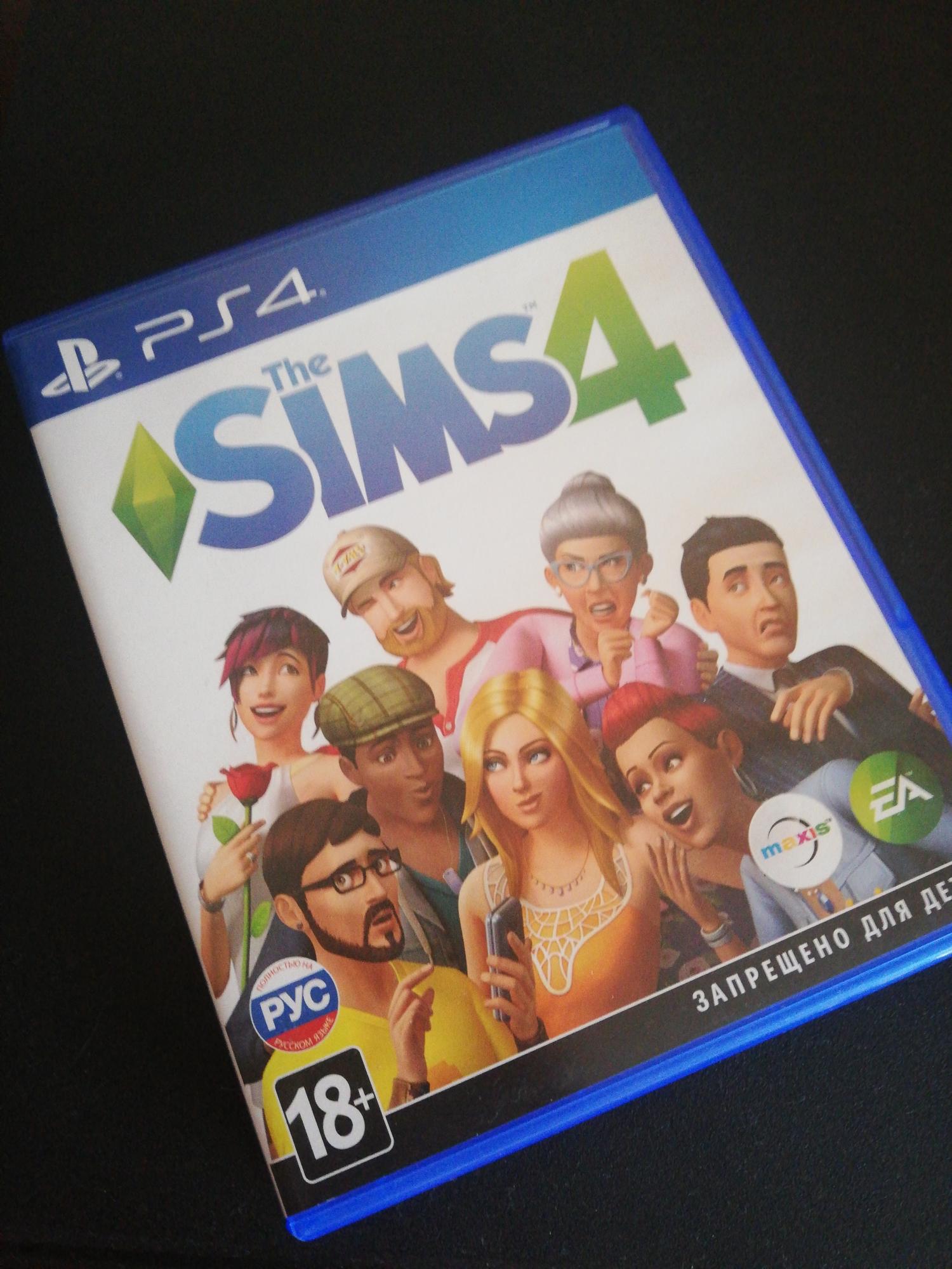 Обзор игры для PS4 EA Sims 4
