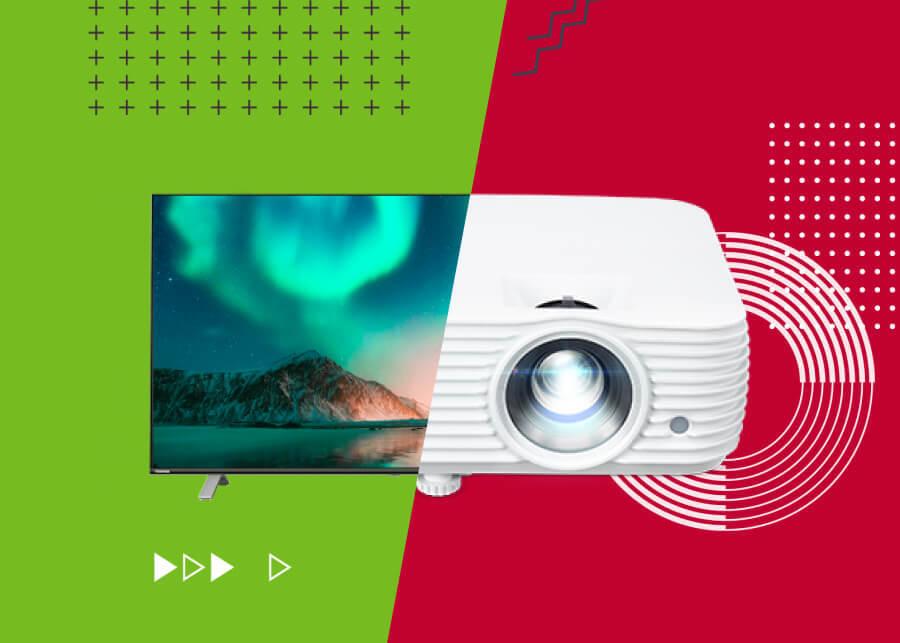 Телевизор или проектор. Что лучше для просмотра футбола и игр?