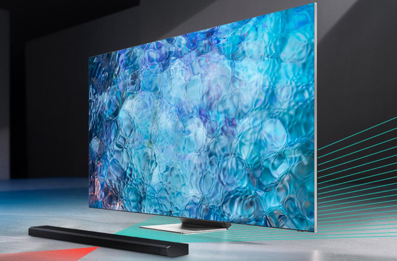 Samsung начинает продажи телевизоров Neo QLED в России. За предзаказ дарят саундбар