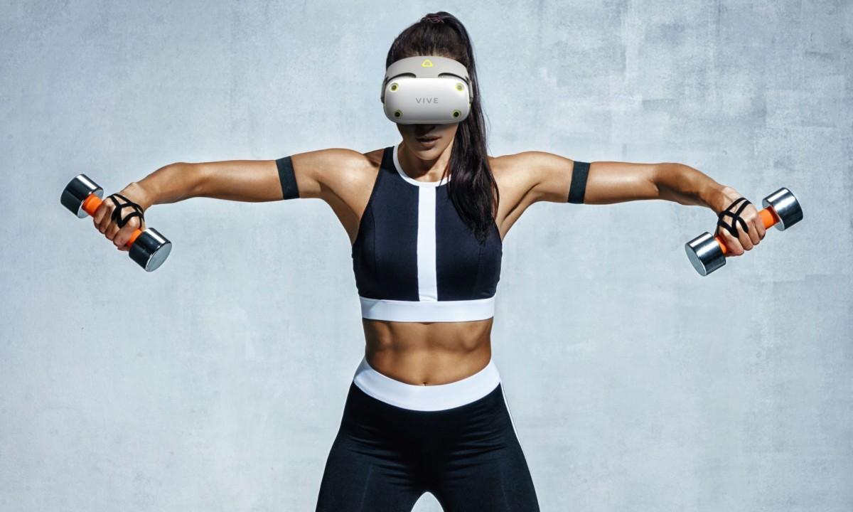 VR-шлем HTC Vive Air для фитнеса получил престижную награду за дизайн еще до выхода в продажу