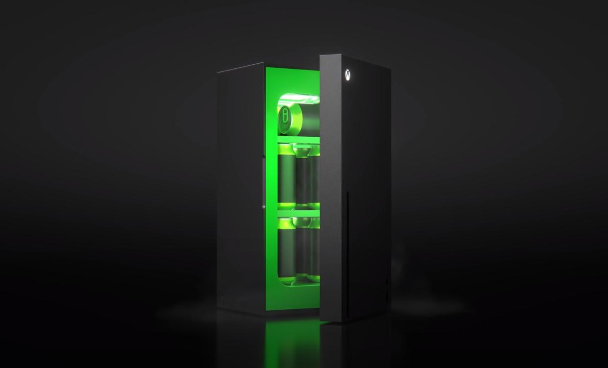 Храни продукты в Xbox. Microsoft действительно начнет продажи холодильников в стиле Xbox Series X