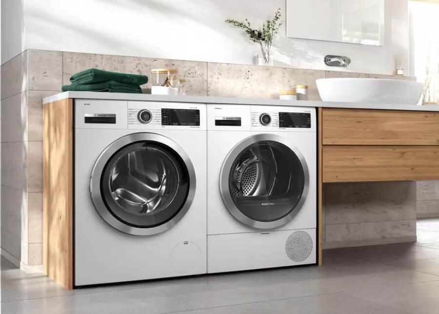 Новая линейка бытовой техники Bosch: стиральные и сушильные машины