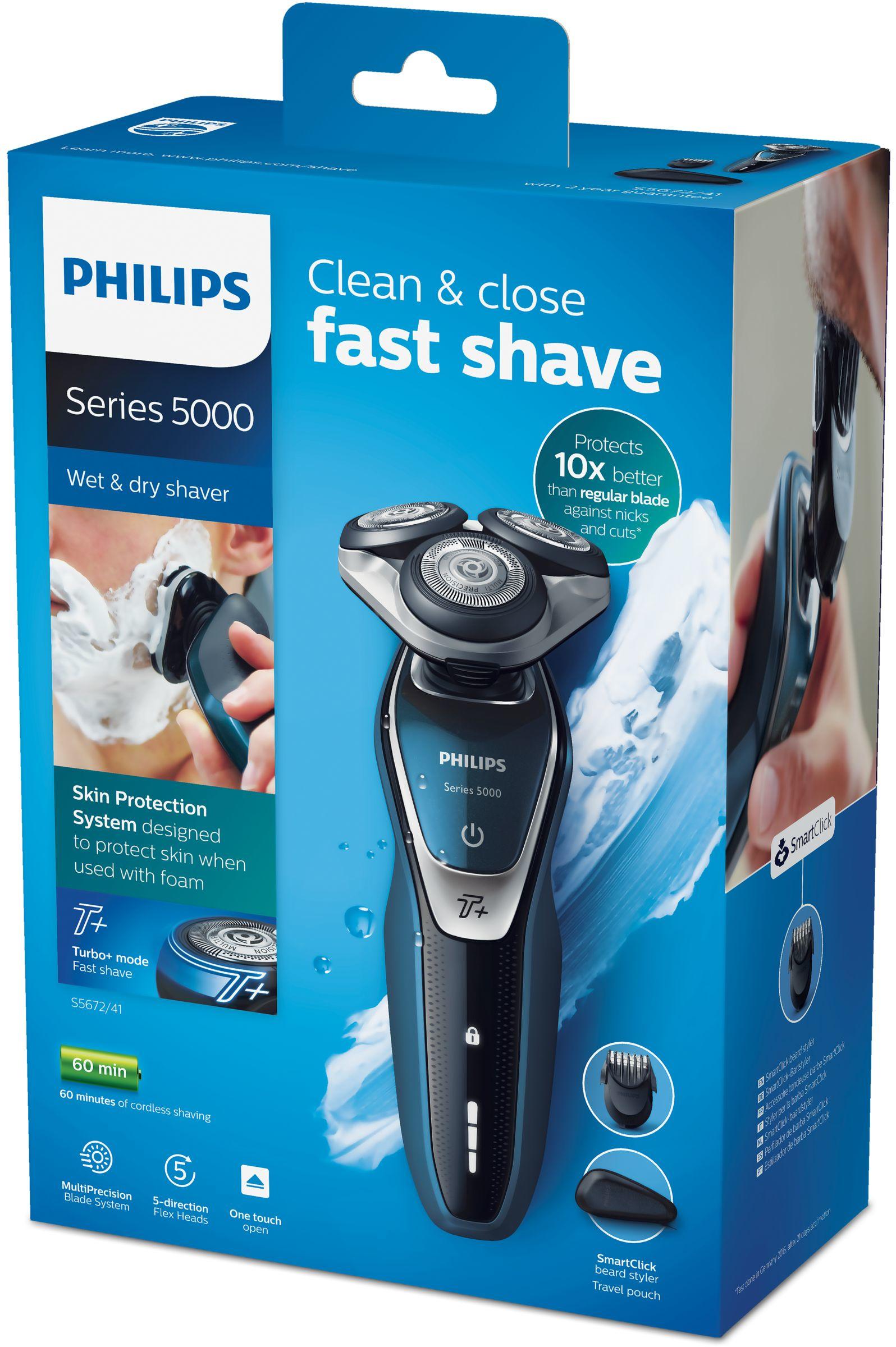 Обзор электробритвы Philips S5530/06 Wet&Dry
