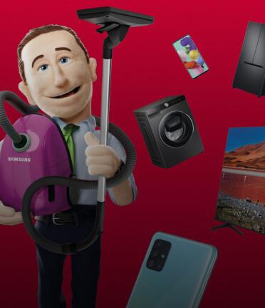 Дарим скидки на холодильники, ТВ и другую технику Samsung!