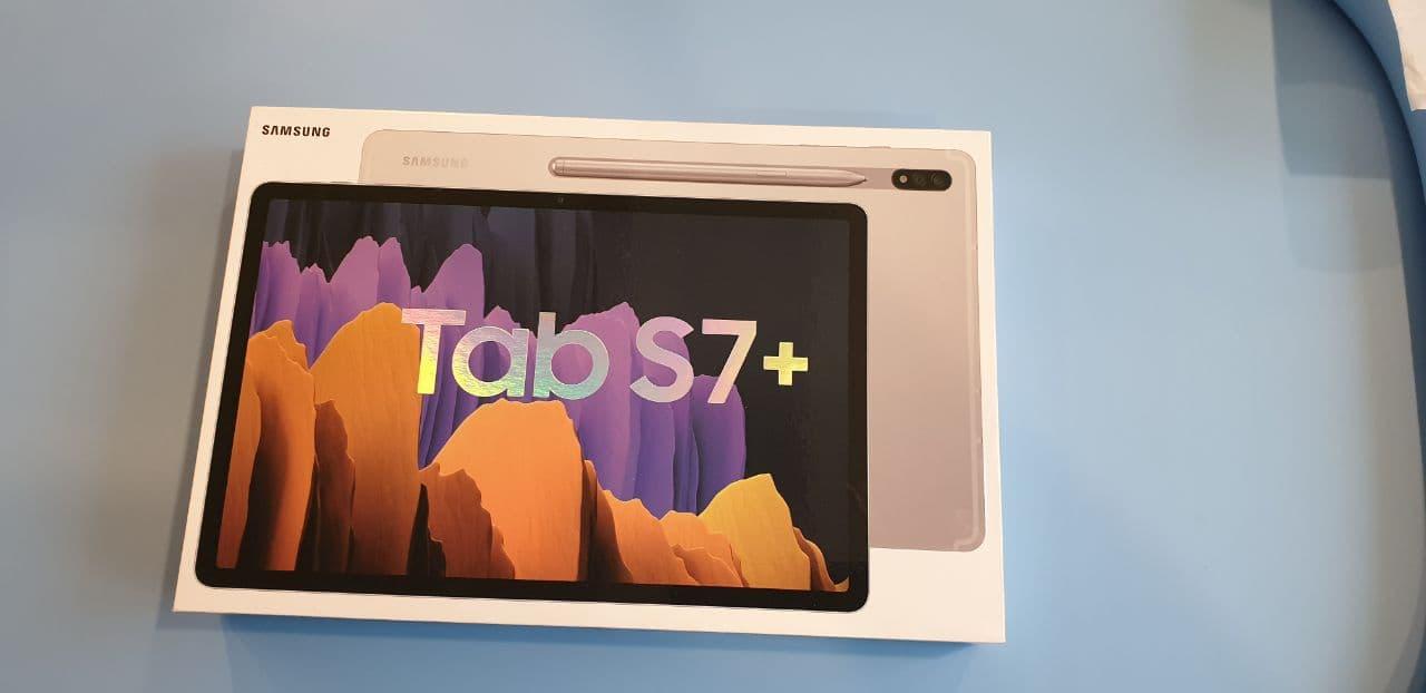 Обзор на планшет Samsung Galaxy Tab S7+ LTE Silver (SM-T975N)