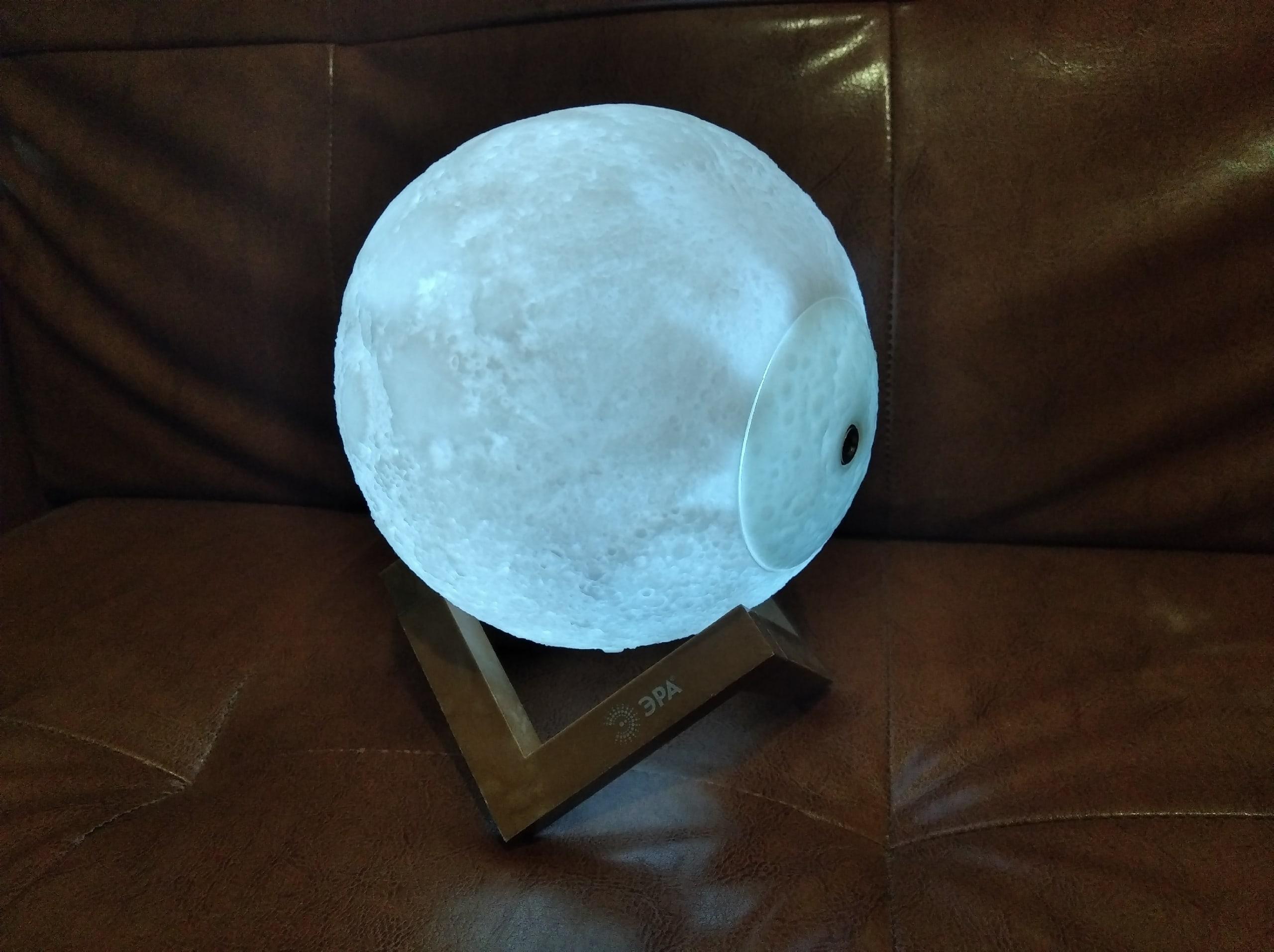 "Обзор на ночник ЭРА ""Луна"" (NLED-491-1W-W)"