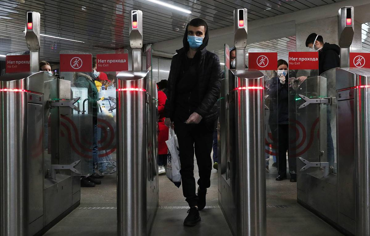 В Москве можно будет платить лицом за проезд в метро на всех станциях уже к концу 2021 года