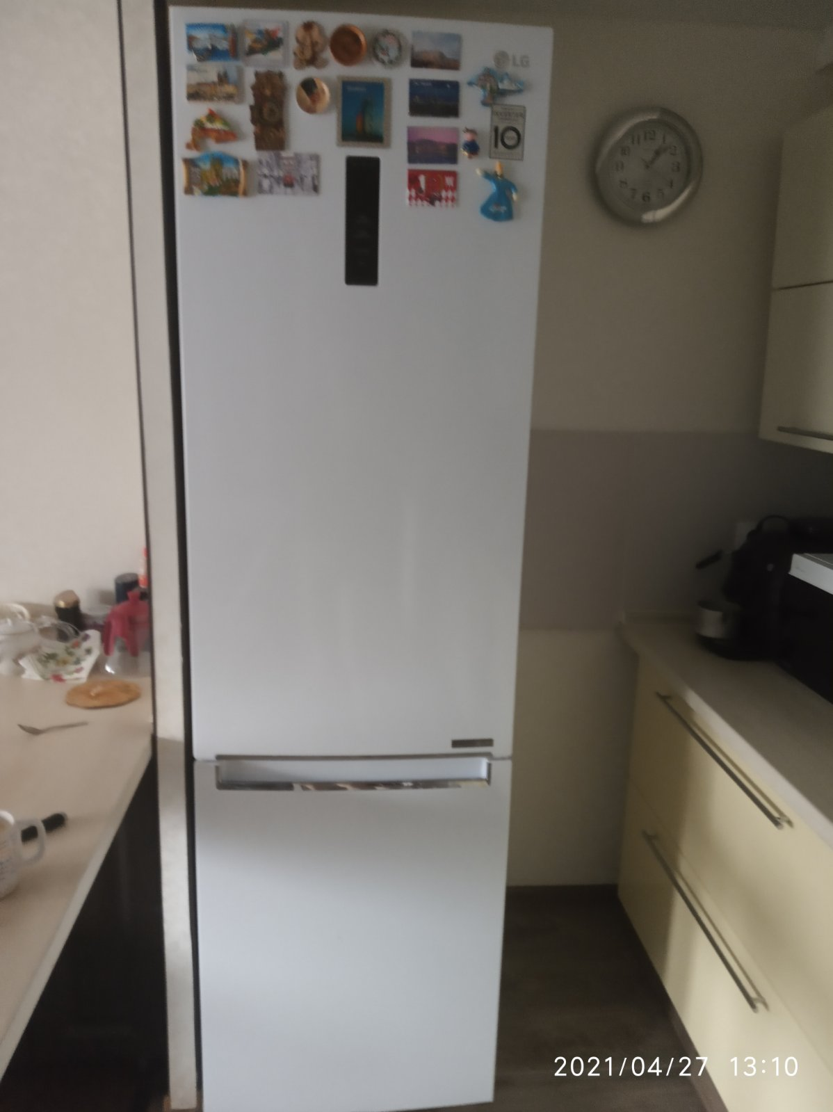 Обзор холодильника LG DoorCooling+ GA-B509SQK. Белоснежный гигант.