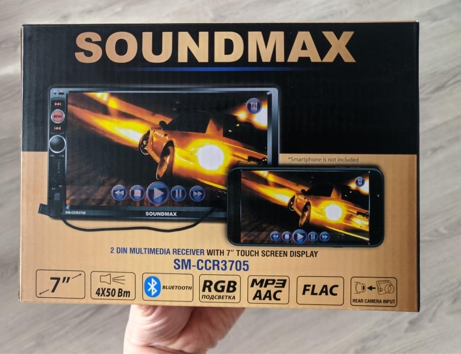 Обзор автомагнитолы Soundmax SM-CCR3705