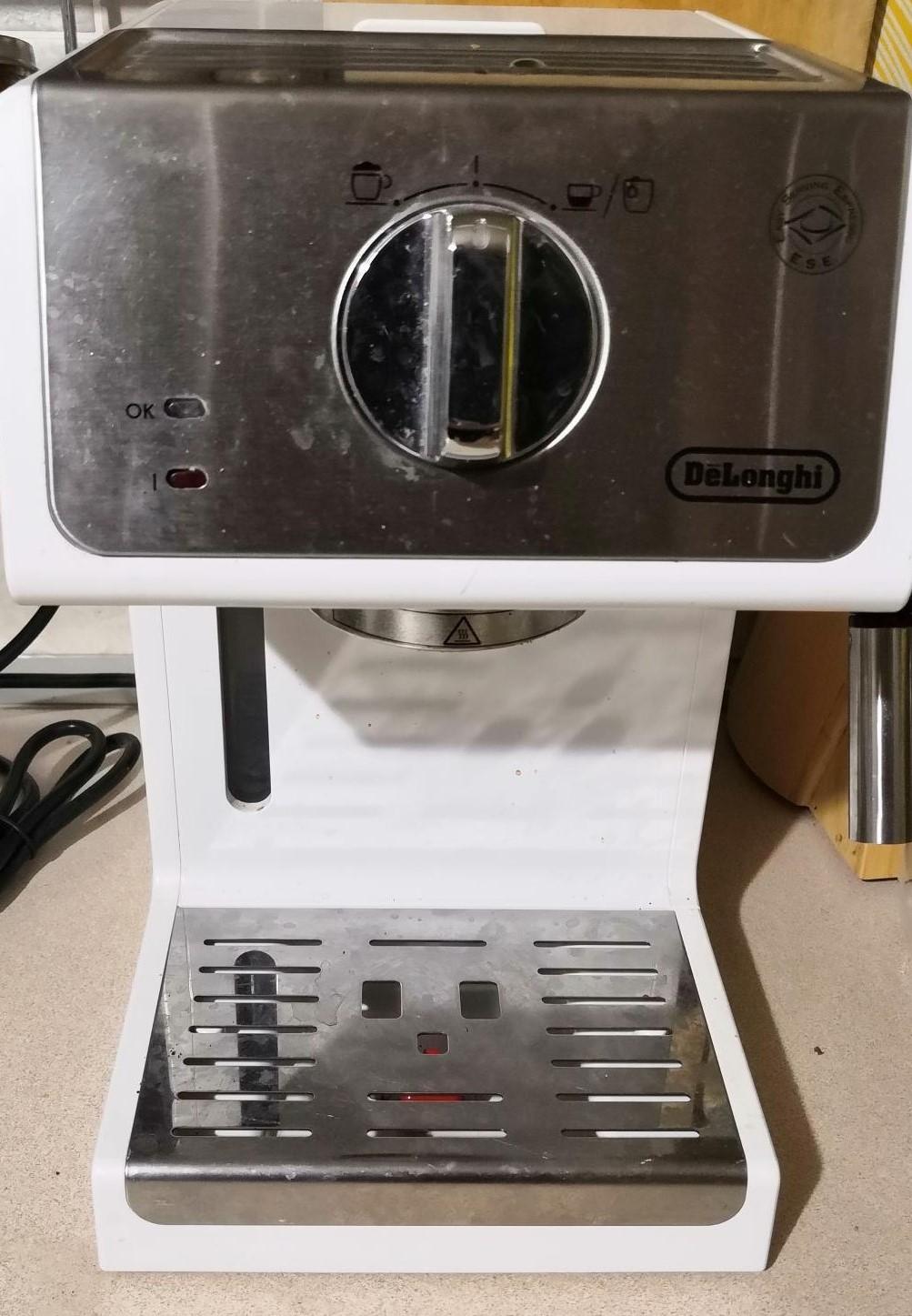 Обзор рожковой кофеварки DeLonghi ECP33.21.W