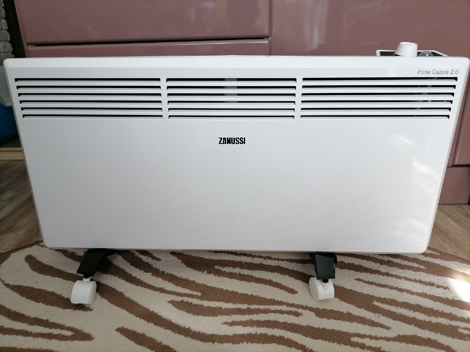 Обзор конвектора Zanussi ZCH/S-2000 MR