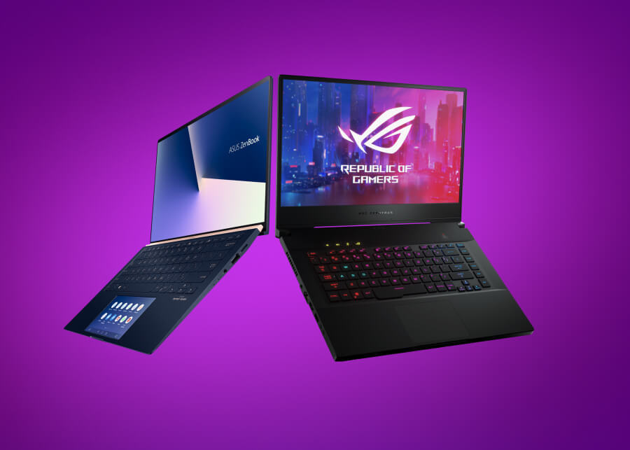 Для игр, работы, графики и учебы. Какой ноутбук Asus лучше взять?