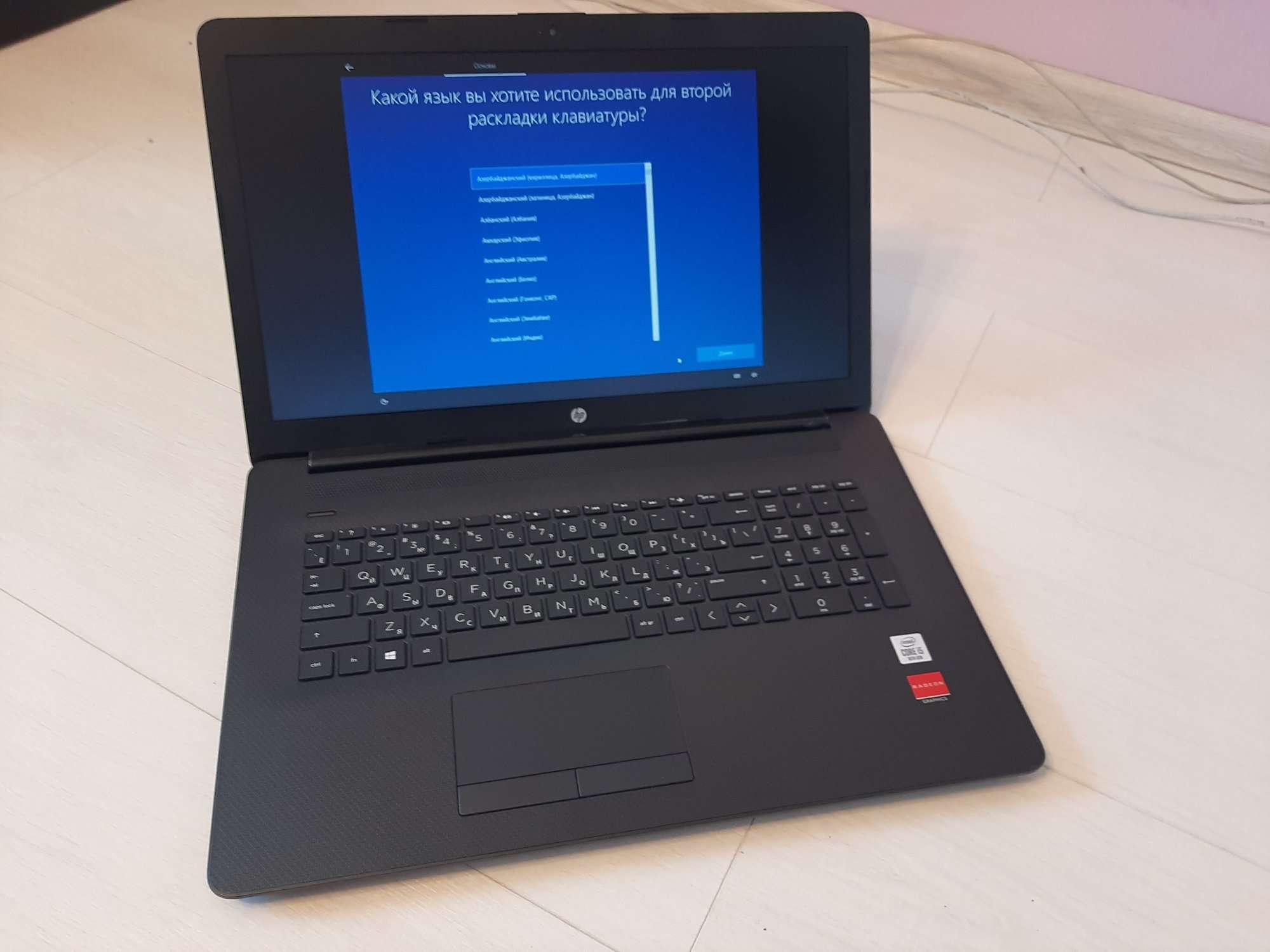 Обзор на ноутбук HP 17-by2006ur (286W0EA) - мощный и недорой ноутбук HP