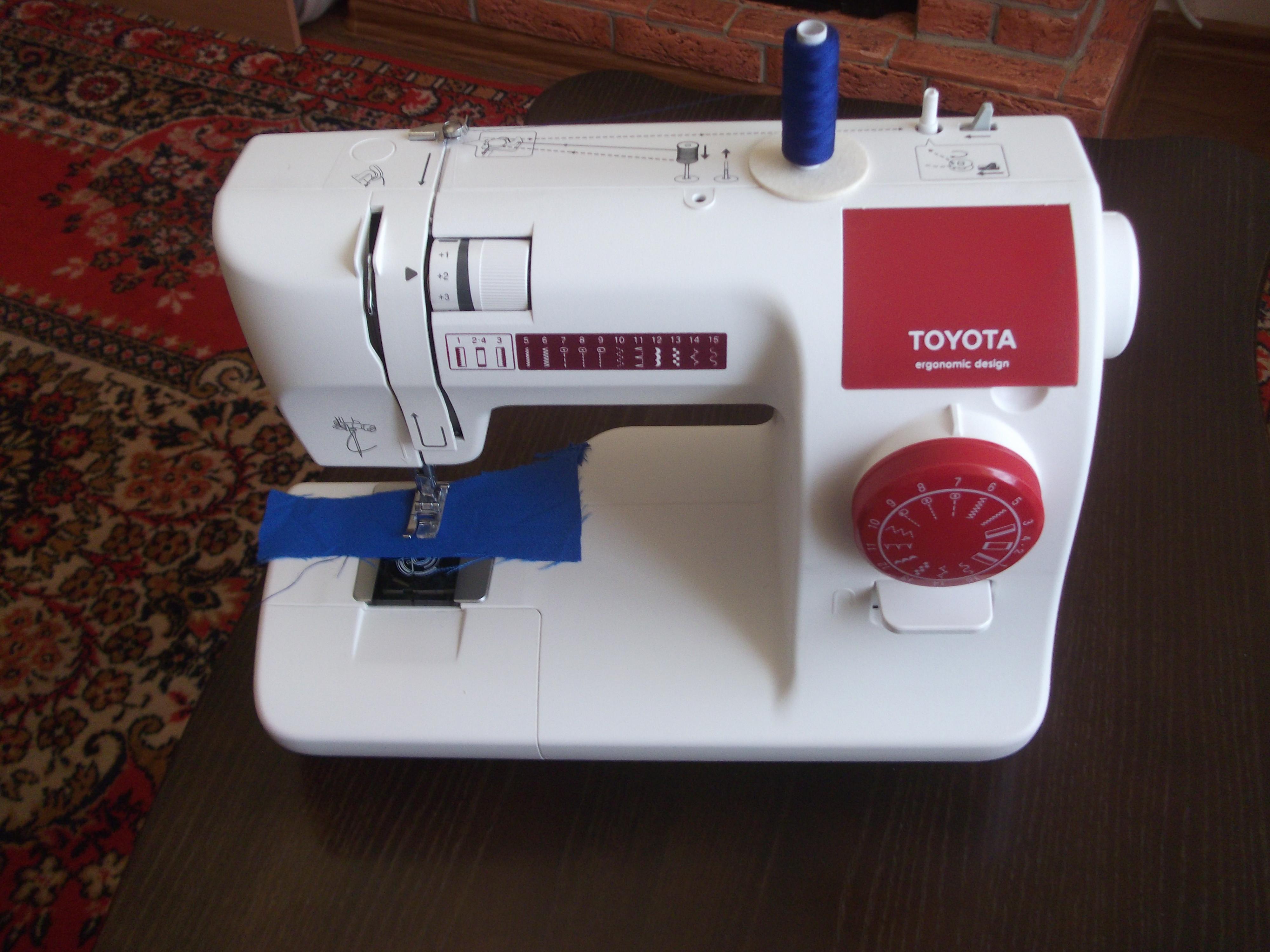 Видеообзор швейной машины Toyota SPA 15R