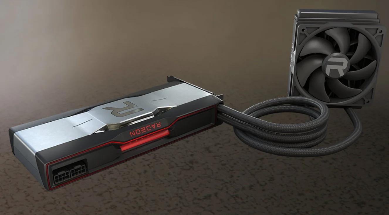 AMD показала мощную видеокарту Radeon RX 6900 XT с жидким охлаждением