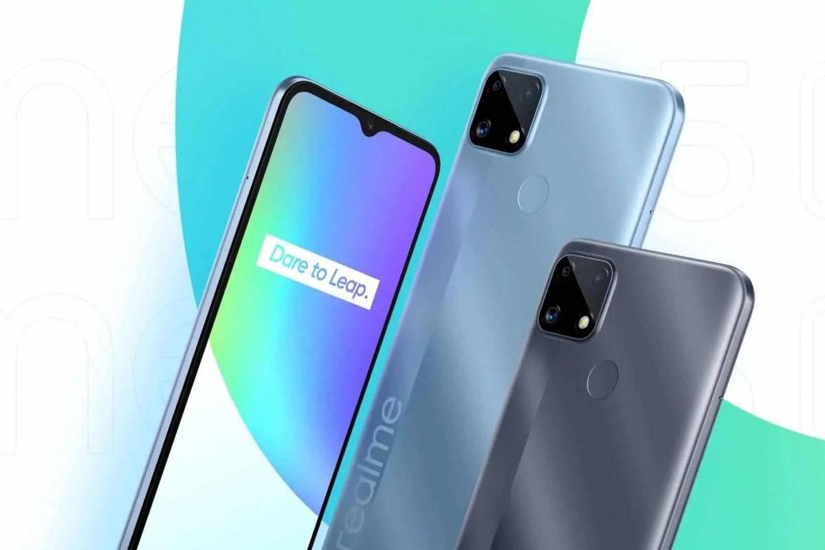 Realme выпустила бюджетный смартфон C25s с огромной батареей. Характеристики и цена