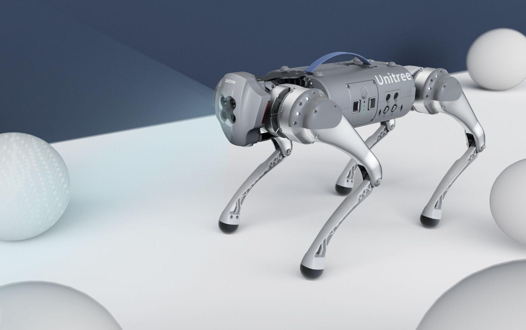 В Китае выпустили робота-пса, который почти в 30 раз дешевле аналогов