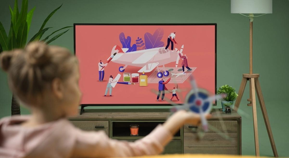 «Сбер» показал собственную  операционную систему для телевизоров