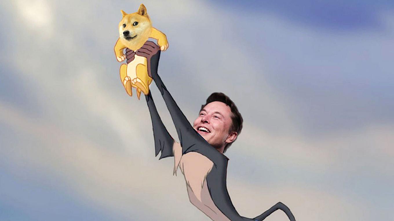 Илон Маск свергает биткоин. Поддерживаемая им криптовалюта Dogecoin подорожала на 55% за сутки
