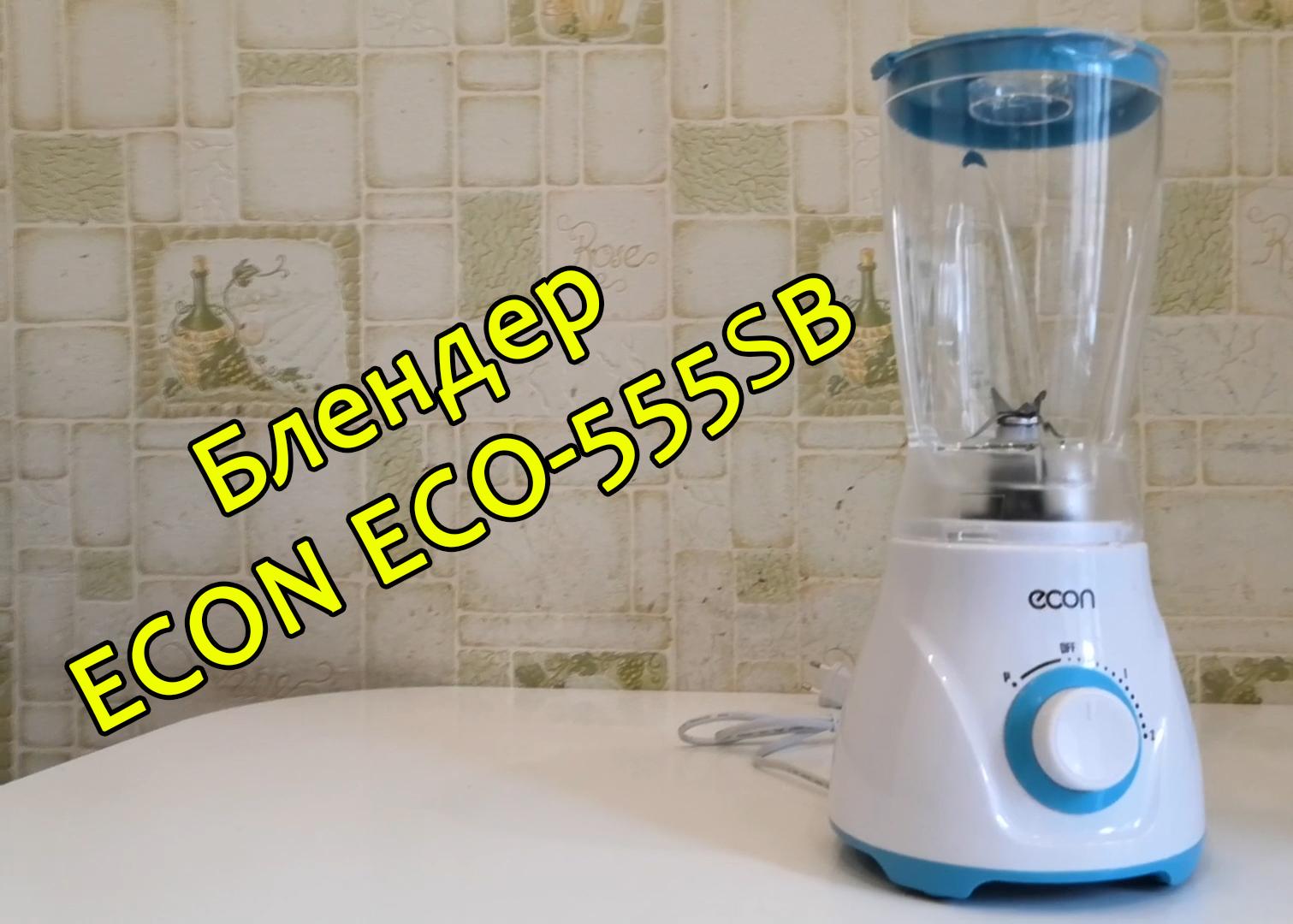 Видеообзор блендера ECON ECO-555SB