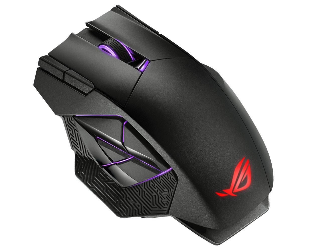 Asus представила беспроводную мышь ROG Spatha X для фанатов многопользовательских игр