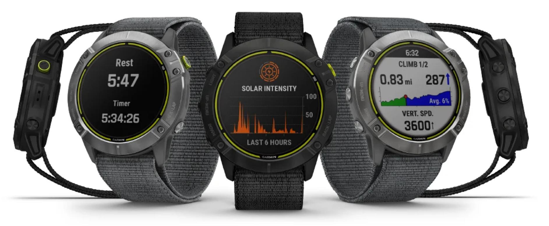 Garmin выпустили самые автономные смарт-часы - они «живут» до 65 дней