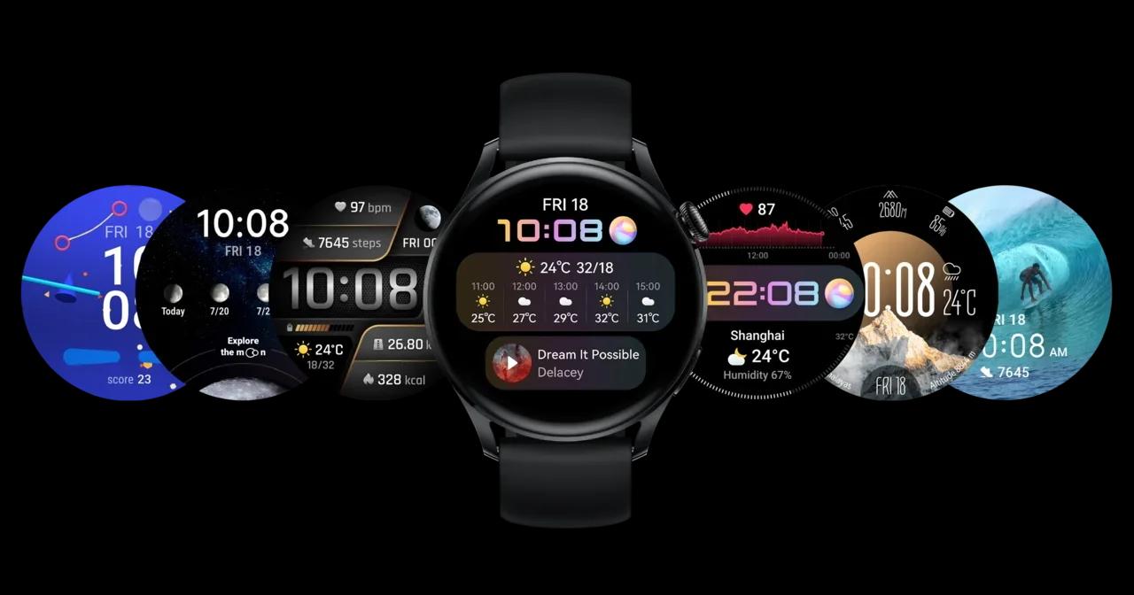 В России представили смарт-часы Huawei Watch 3. Характеристики и цены