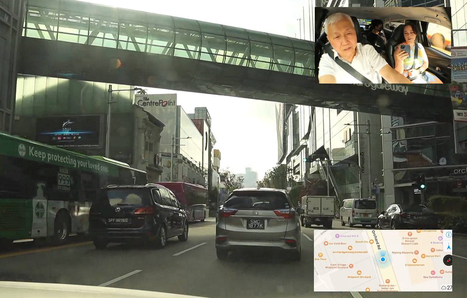 Власти Сингапура запустили на Twitch стрим экскурсии по городу на такси