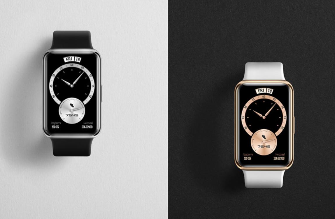 Представлены Huawei Watch Fit Elegant Edition — очень стильные и умные часы