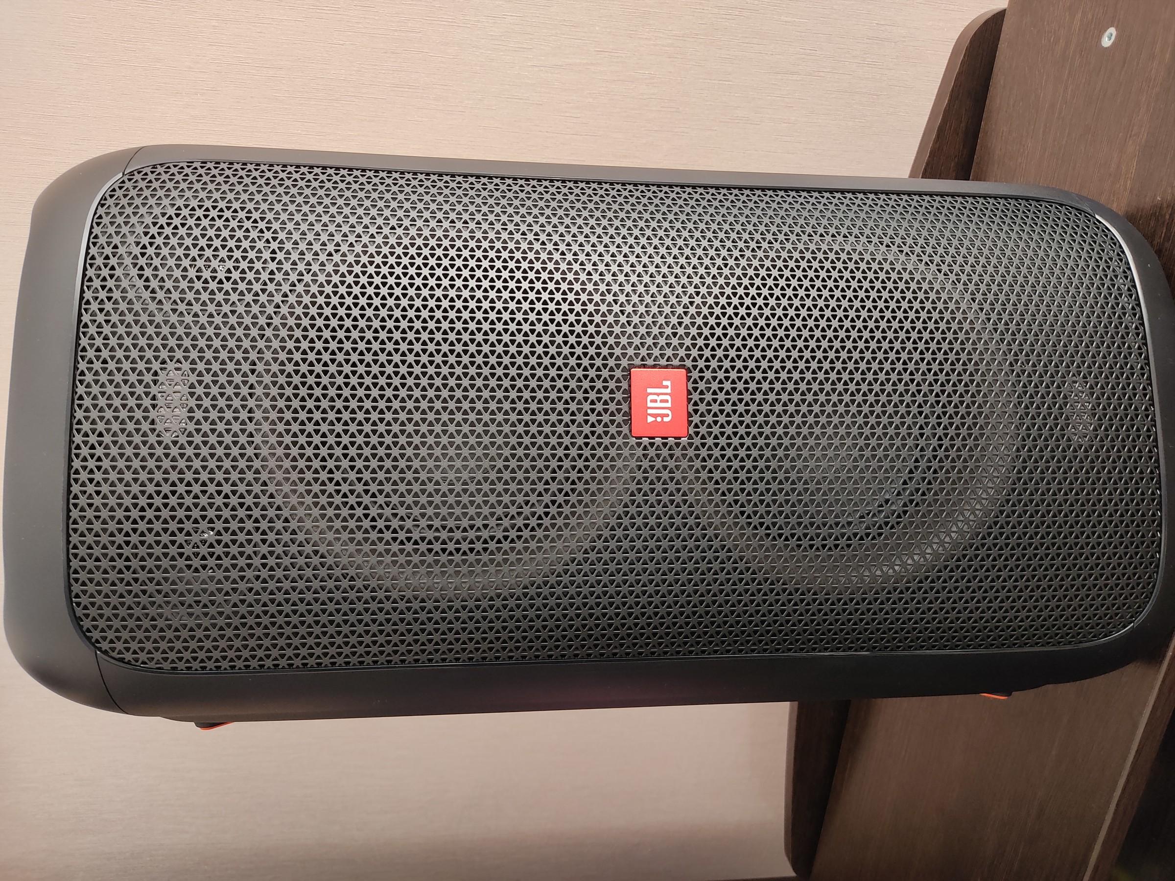 Обзор беспроводной аудиосистемы JBL Party Box 100 Black (JBLPARTYBOX100RU)