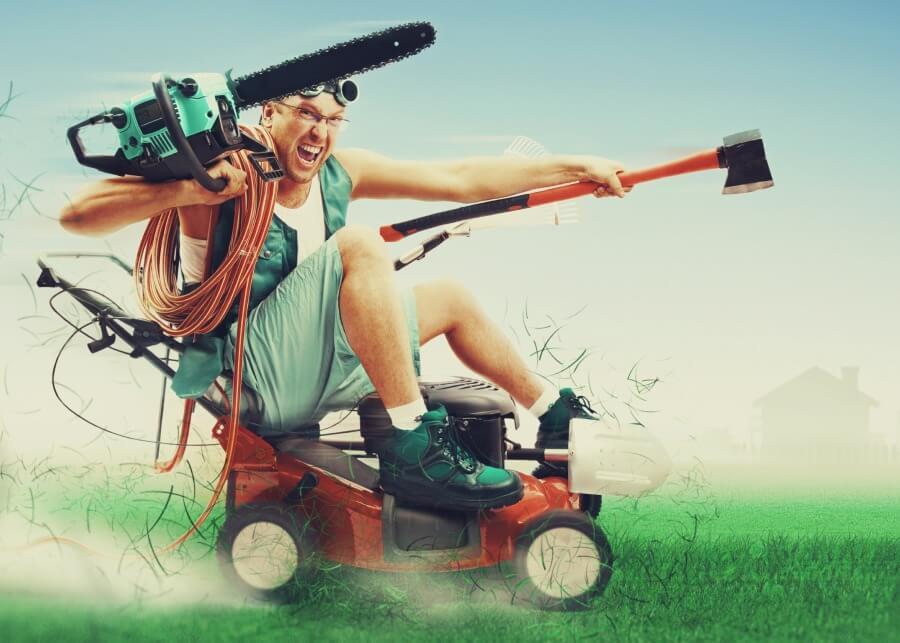 Как выбрать газонокосилку за 10 минут?