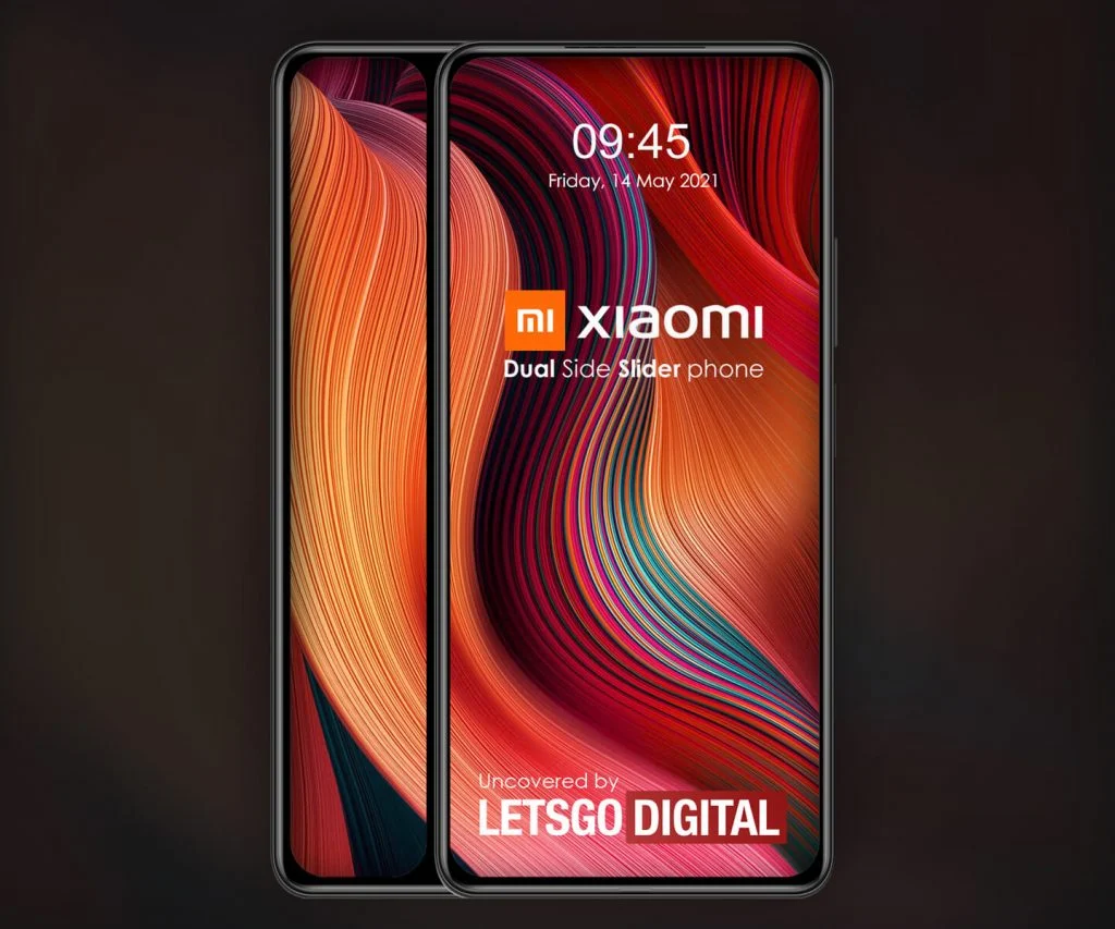 Xiaomi запатентовала смартфон-слайдер с двумя экранами