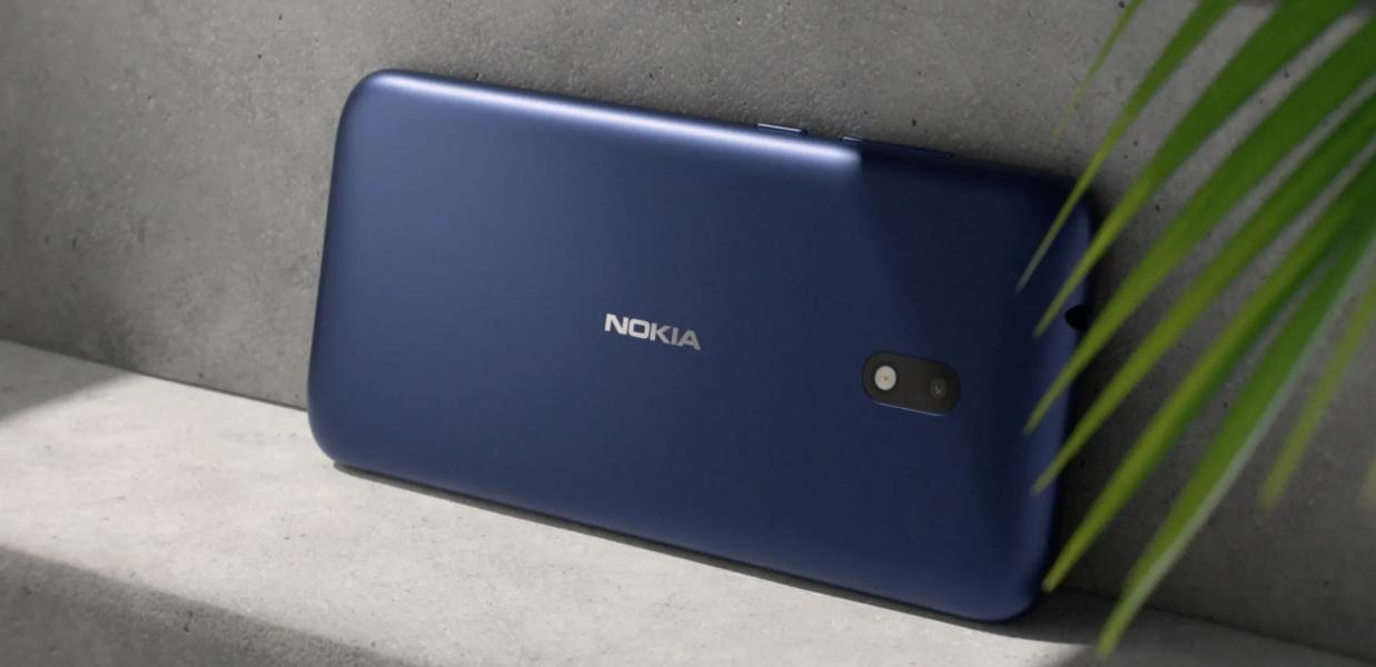 В России представили бюджетный смартфон Nokia