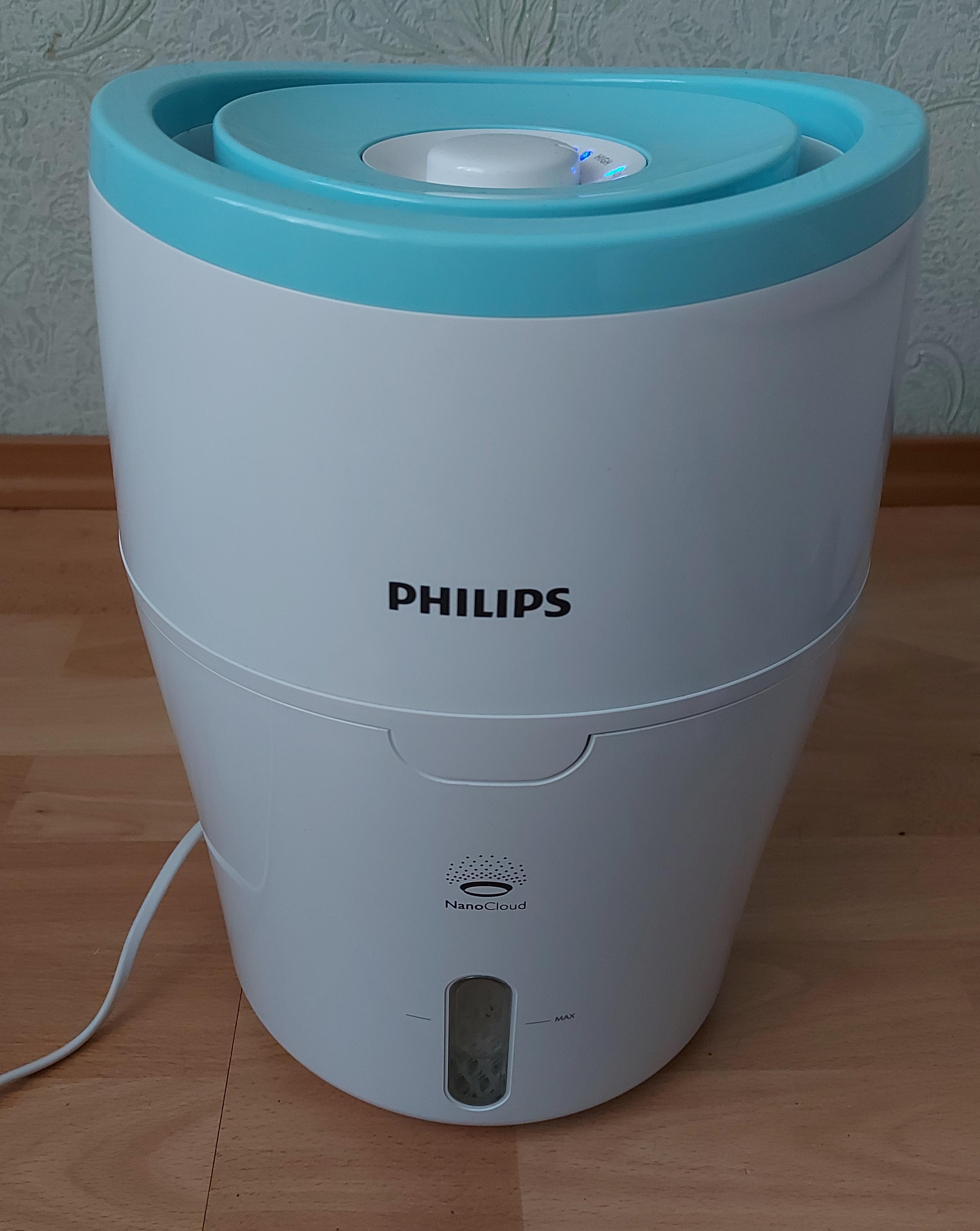 Обзор на увлажнитель воздуха Philips HU4801/01. Стоит ли покупать?