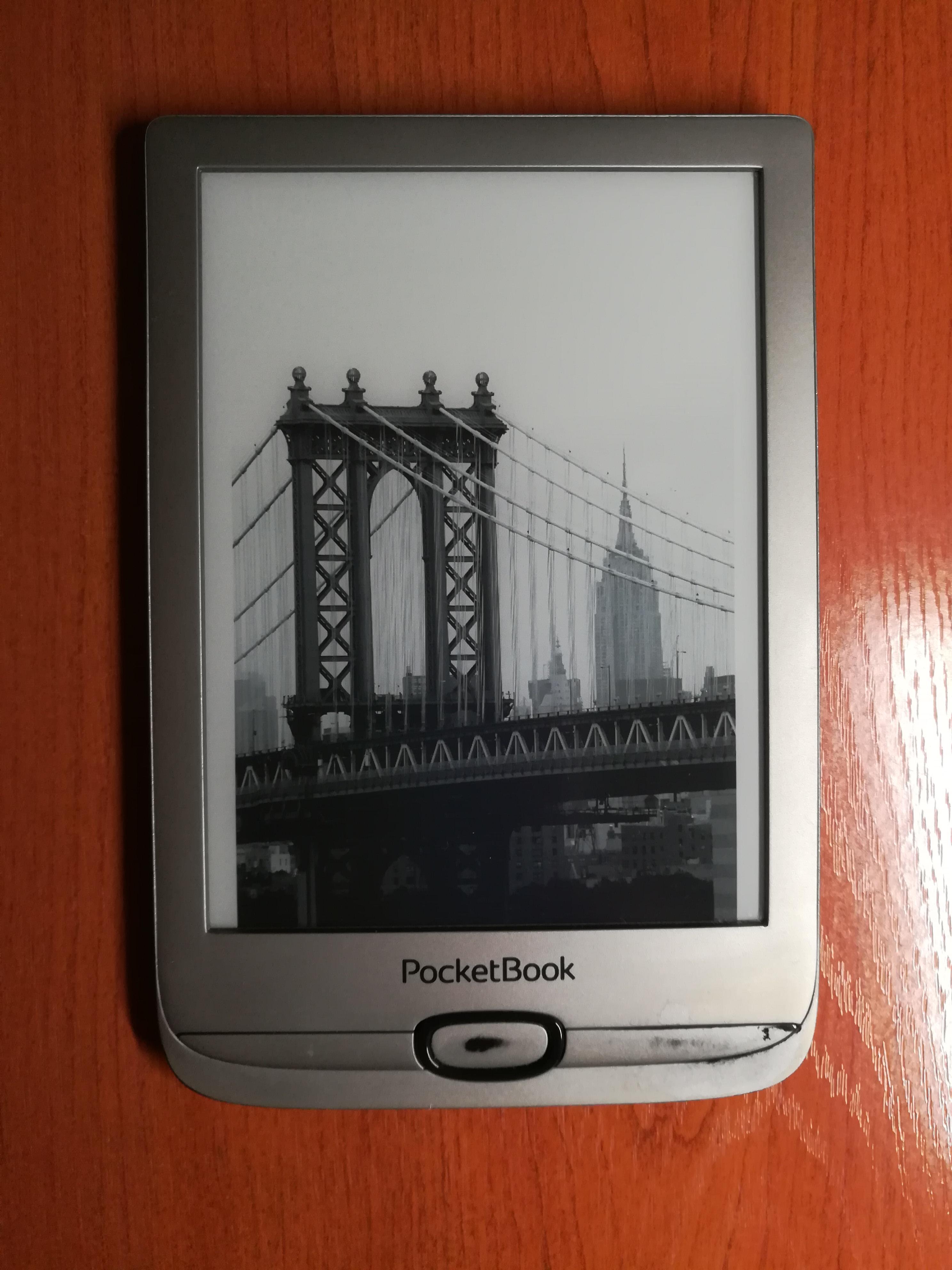 Обзор на электронную книгу Pocketbook 616 Silver Matte. Альтернатива частной библиотеке.