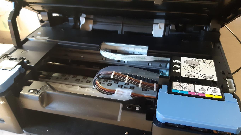 Принтер внутри